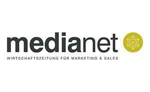 Logo unseres Partners medianet